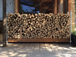 薪の保管・管理